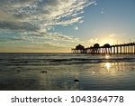 Huntington Beach Pier At Sunse...