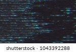 unique design abstract digital...   Shutterstock . vector #1043392288