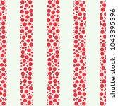 seamless abstract vector... | Shutterstock .eps vector #1043395396