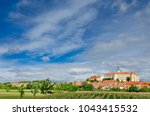 mikulov castle and town  south... | Shutterstock . vector #1043415532