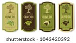 set elegant labels collection... | Shutterstock .eps vector #1043420392