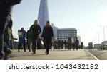 london  uk. january 21  2017.... | Shutterstock . vector #1043432182
