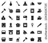 flat vector icon set   sponge...
