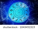 zodiac astrology signs for... | Shutterstock . vector #1043452315