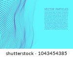 points landscape background.... | Shutterstock .eps vector #1043454385