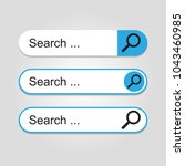 search bar for ui vector...