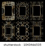 vector illustration set of... | Shutterstock .eps vector #1043466535