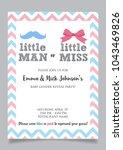 little man or little miss ... | Shutterstock .eps vector #1043469826
