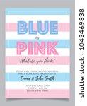 Blue Or Pink  Gender Reveal...