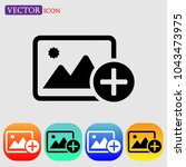 add image icon vector  add...