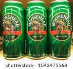 toronto   march 11  2018  cans... | Shutterstock . vector #1043475568