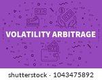 conceptual business... | Shutterstock . vector #1043475892