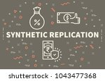 conceptual business...   Shutterstock . vector #1043477368