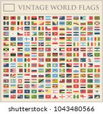all world flags set   new... | Shutterstock .eps vector #1043480566