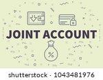 conceptual business... | Shutterstock . vector #1043481976