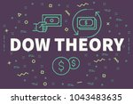 conceptual business... | Shutterstock . vector #1043483635