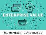 conceptual business... | Shutterstock . vector #1043483638