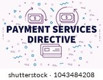 conceptual business... | Shutterstock . vector #1043484208