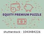conceptual business... | Shutterstock . vector #1043484226