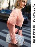 paris march 2  2017. street... | Shutterstock . vector #1043491072