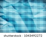 checkered blue background.... | Shutterstock . vector #1043492272