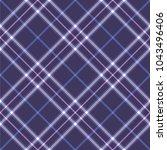 seamless tartan vector pattern | Shutterstock .eps vector #1043496406