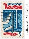 united states   circa 1966  a... | Shutterstock . vector #104350178