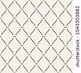 vector seamless pattern. modern ... | Shutterstock .eps vector #1043503882