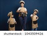 family  children and cuisine...   Shutterstock . vector #1043509426