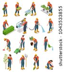 Isometric Set Of Characters Of...