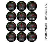 round icon progress bar  12... | Shutterstock .eps vector #1043538472