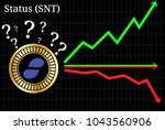 possible graphs of forecast...   Shutterstock .eps vector #1043560906