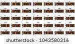 set of vector ukulele chords...   Shutterstock .eps vector #1043580316