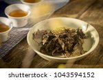 china all kinds of tea | Shutterstock . vector #1043594152