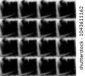 abstract grunge grid polka dot... | Shutterstock . vector #1043611162