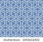 traditional geometric seamless... | Shutterstock .eps vector #1043616502