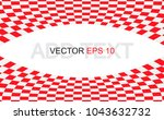 red checkered flag. racing flag ... | Shutterstock .eps vector #1043632732