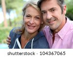portrait of middle aged couple... | Shutterstock . vector #104367065
