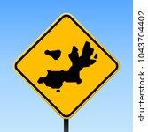 terre de haut island map road... | Shutterstock .eps vector #1043704402