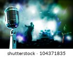 live music background... | Shutterstock . vector #104371835
