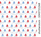 seamless raster pattern with... | Shutterstock . vector #1043721268