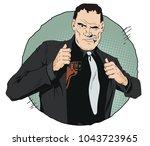 stock illustration. people in... | Shutterstock .eps vector #1043723965
