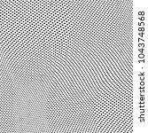 abstract halftone pattern... | Shutterstock .eps vector #1043748568