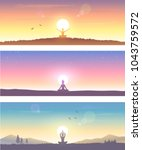 web banner design background or ... | Shutterstock .eps vector #1043759572