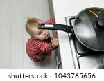 child safety at home concept  ...   Shutterstock . vector #1043765656