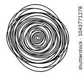 grayscale element of random ... | Shutterstock .eps vector #1043771278