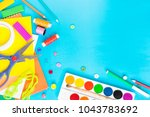 different accessories for... | Shutterstock . vector #1043783692