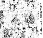black and white abstract... | Shutterstock . vector #1043796052