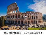 The Roman Colosseum In Rome