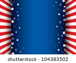 background with stars... | Shutterstock . vector #104383502